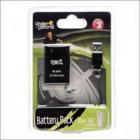 Xbox 360 Dobíjecí Baterie Pro Ovladač - Černá