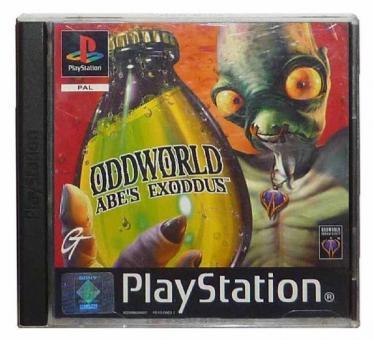 PS1 Oddworld : Abe's Exoddus