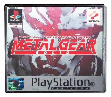 PS1 Metal Gear Solid