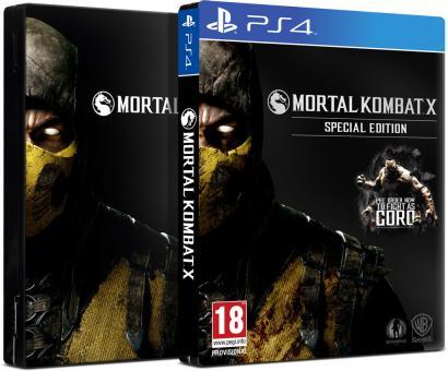PS4 Mortal Kombat X Special Edition