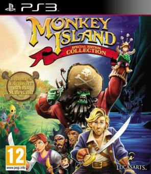 PS3 Monkey Island : Special Edition Collection