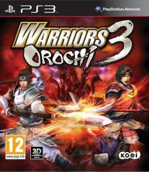 PS3 Warriors Orochi 3