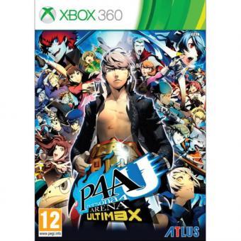 Xbox 360 Persona 4 Arena Ultimax