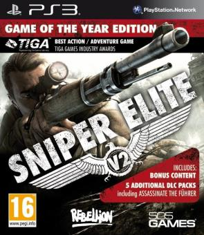 PS3 Sniper Elite V2 Game Of The Year Edition