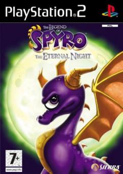 PS2 The Legend Of Spyro : The Eternal Night