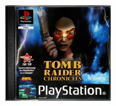 PS1 Tomb Raider Chronicles