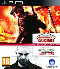 PS3 Tom Clancy's Rainbow Six Vegas + Splinter Cell Double Agent