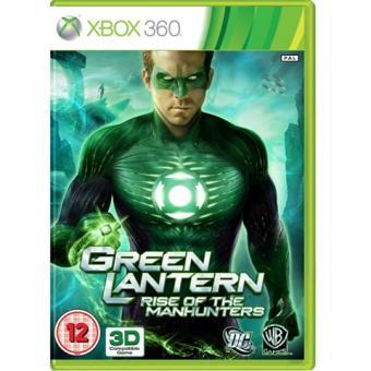 Xbox 360 Green Lantern : Rise Of The Manhunters