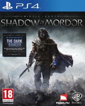 PS4 Middle-Earth : Shadow Of Mordor
