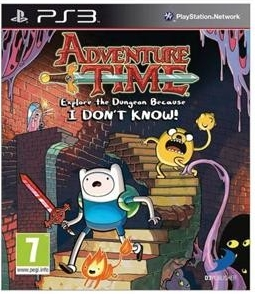 PS3 Adventure Time : Explore The Dungeon Because I Dont Know