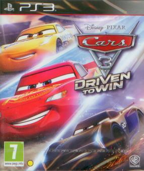 PS3 Cars 3 : Driven To Win