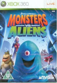 Xbox 360 Monsters Vs. Aliens