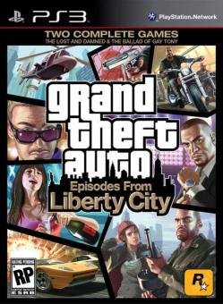 PS3 GTA : Episodes From Liberty City