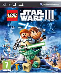PS3 Lego Star Wars 3 : The Clone Wars
