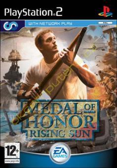 PS2 Medal Of Honor : Rising Sun