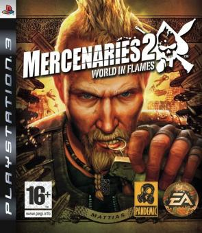 PS3 Mercenaries 2 : World In Flames