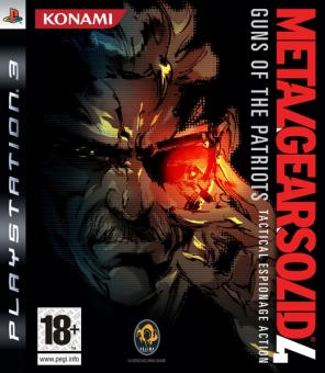 PS3 Metal Gear Solid 4 : Guns OF The Patriots