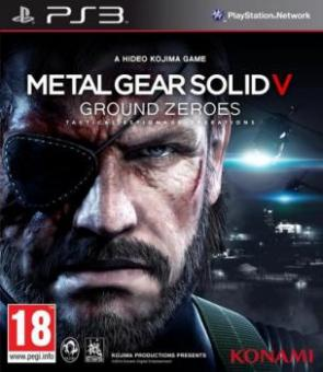PS3 Metal Gear Solid V : Ground Zeroes