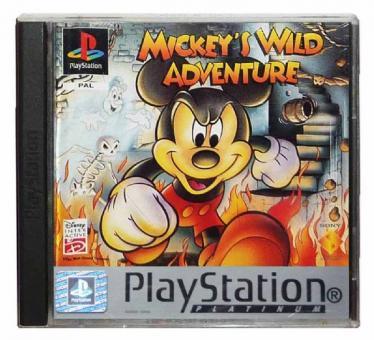 PS1 Mickey's Wild Adventure