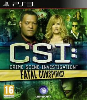PS3 CSI Crime Scene Investigation : Fatal Conspiracy