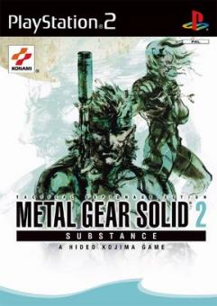 PS2 Metal Gear Solid 2 : Substance