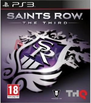 PS3 Saints Row : The Third