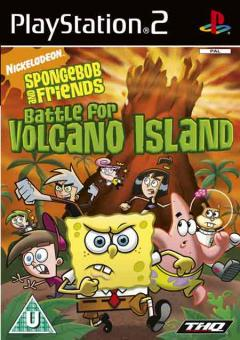PS2 Spongebob And Friends : Battle For Volcano Island
