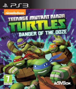 PS3 Teenage Mutant Ninja Turtles : Danger Of The Ooze