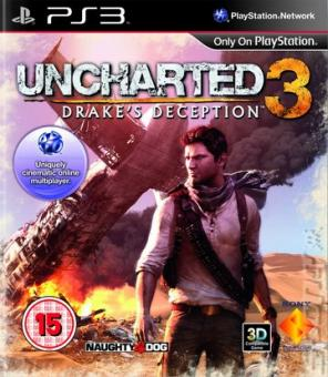 PS3 Uncharted 3 : Drake's Deception