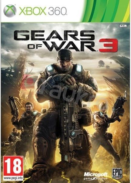 Xbox 360 Gears Of War 3