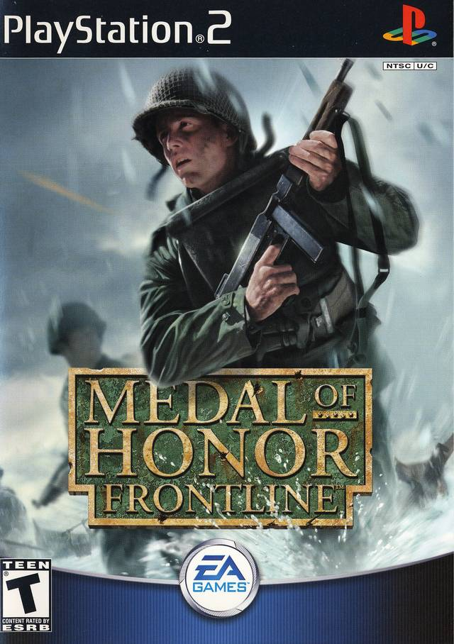 PS2 Medal Of Honor : Frontline