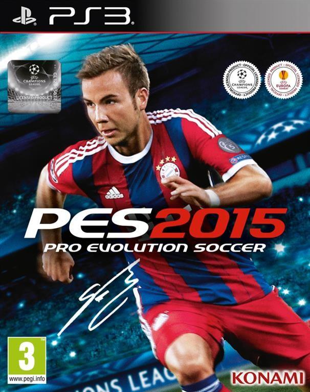 PS3 Pro Evolution Soccer 2015