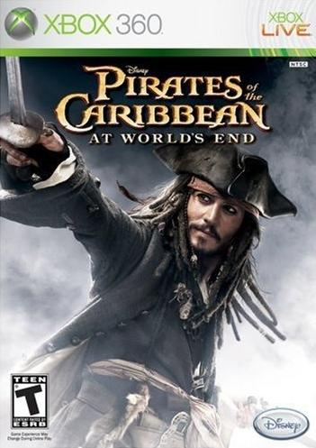 Xbox 360 Pirates Of The Caribbean : At World's End