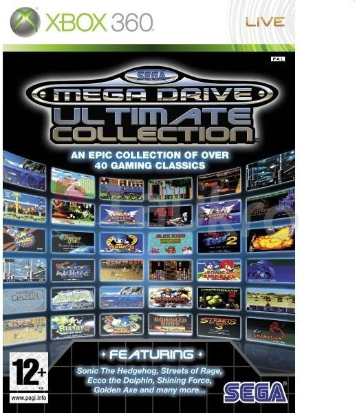 Xbox 360 Sega Mega Drive Ultimate Collection