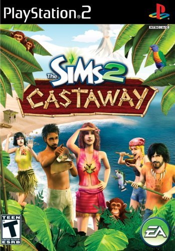 PS2 The Sims 2 Castaway
