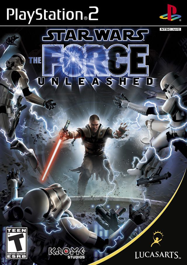 PS2 Star Wars : The Force Unleashed
